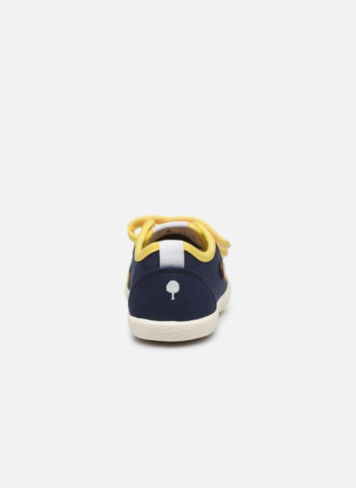 Trainers Faguo Tennis Sugiv Cotton Blue view from the right