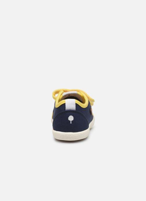 Sneakers Faguo Tennis Sugiv Cotton Blå Se fra højre
