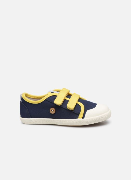 Sneakers Faguo Tennis Sugiv Cotton Blauw achterkant