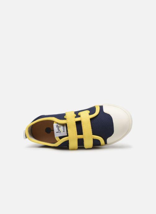 Sneakers Faguo Tennis Sugiv Cotton Blauw links