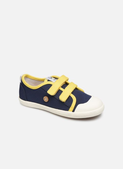 Trainers Faguo Tennis Sugiv Cotton Blue detailed view/ Pair view