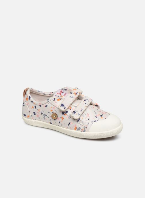 Trainers Faguo Tennis Sugiv Cotton White detailed view/ Pair view