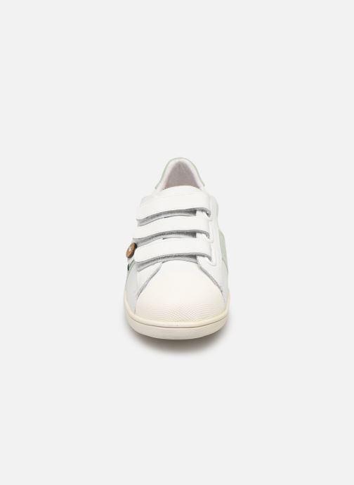 Baskets Faguo Tennis Hostav Lea Blanc vue portées chaussures