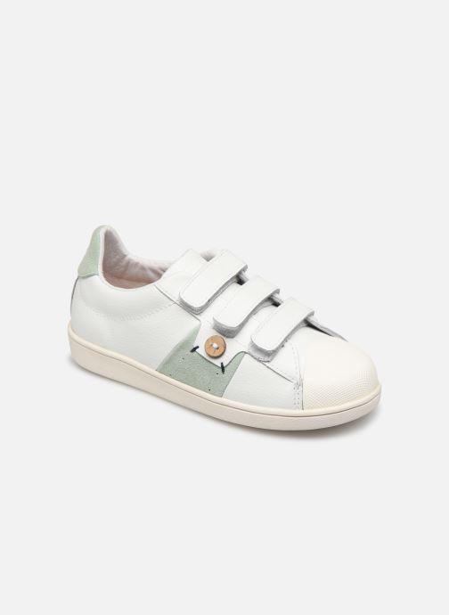 Sneakers Faguo Tennis Hostav Lea Wit detail