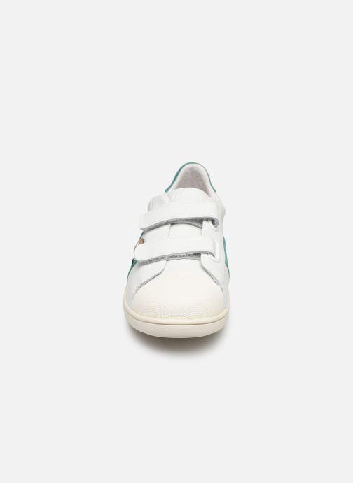 Sneaker Faguo Tennis Hostav Lea weiß schuhe getragen