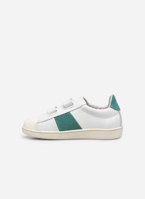 Sneakers Faguo Tennis Hostav Lea Wit voorkant