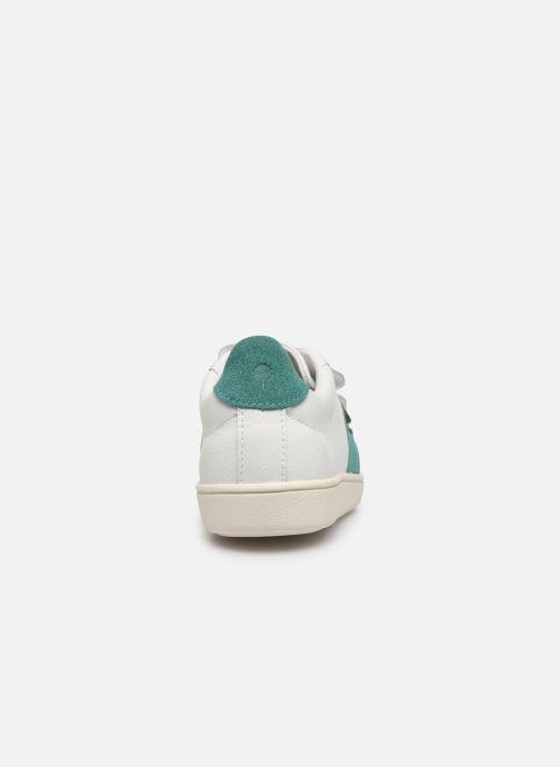 Sneakers Faguo Tennis Hostav Lea Bianco immagine destra