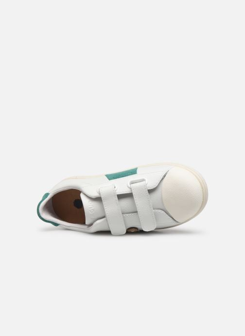Sneakers Faguo Tennis Hostav Lea Bianco immagine sinistra