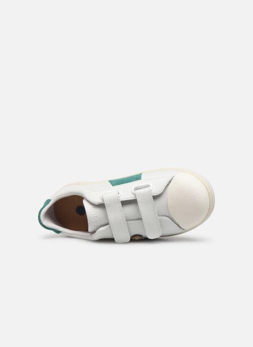 Sneakers Faguo Tennis Hostav Lea Wit links