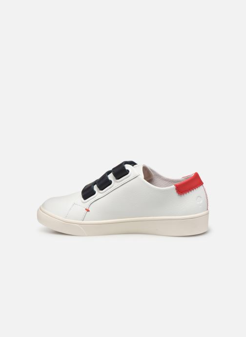 Trainers Faguo Tennis Aspenlowv Leather White front view