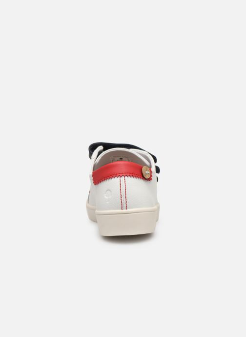 Trainers Faguo Tennis Aspenlowv Leather White view from the right