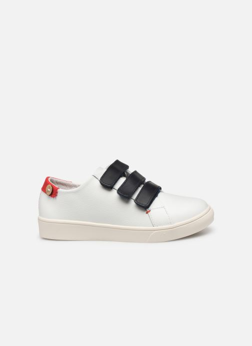 Sneakers Faguo Tennis Aspenlowv Leather Wit achterkant