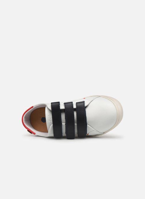 Sneakers Faguo Tennis Aspenlowv Leather Wit links