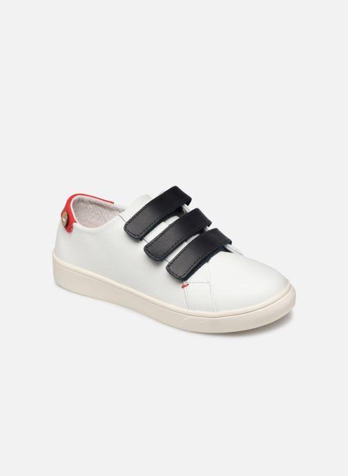 Sneakers Faguo Tennis Aspenlowv Leather Wit detail