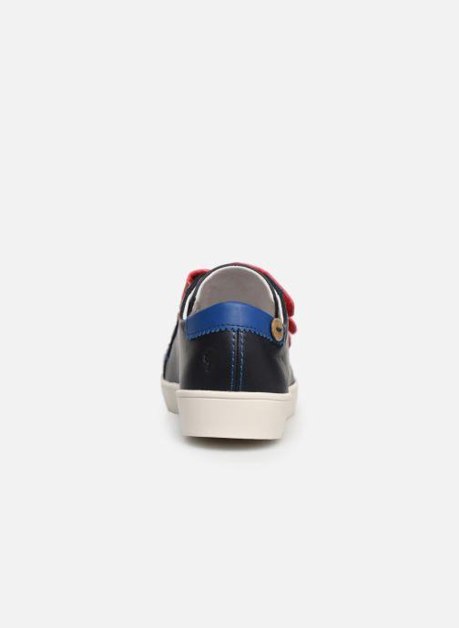 Sneakers Faguo Tennis Aspenlowv Leather Blauw rechts