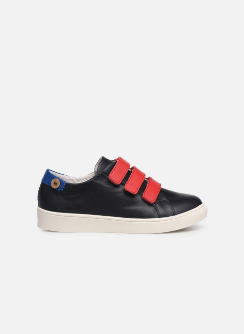 Trainers Faguo Tennis Aspenlowv Leather Blue back view