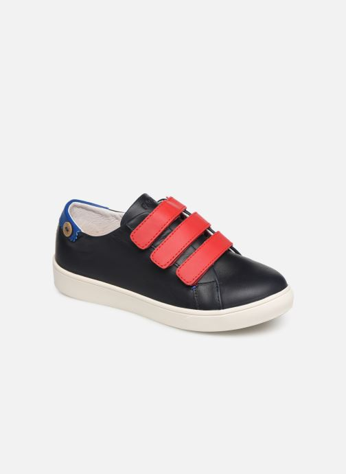 Trainers Faguo Tennis Aspenlowv Leather Blue detailed view/ Pair view