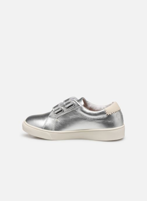 Sneakers Faguo Tennis Aspenlowv Leather Argento immagine frontale