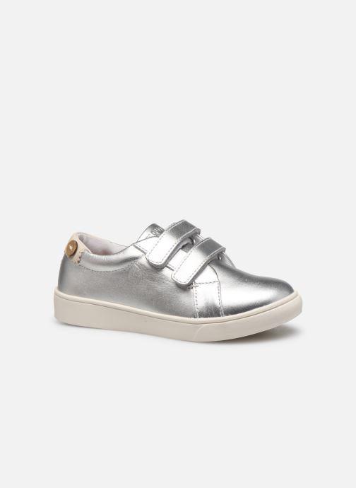 Sneakers Faguo Tennis Aspenlowv Leather Zilver achterkant