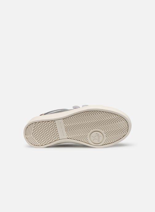Sneakers Faguo Tennis Aspenlowv Leather Zilver boven