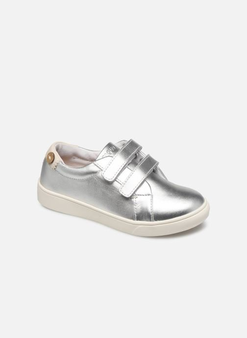 Sneakers Faguo Tennis Aspenlowv Leather Zilver detail