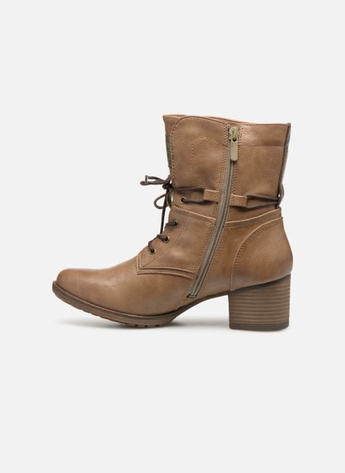 Ankle boots Mustang shoes Julie new Brown front view