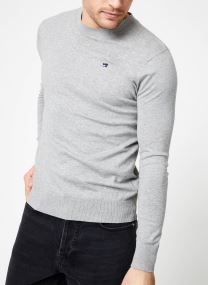 Classic crewneck pull in cotton melange quality
