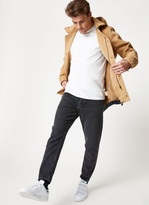 Vêtements Scotch & Soda Classic parka jacket in bonded quality Beige vue bas / vue portée sac