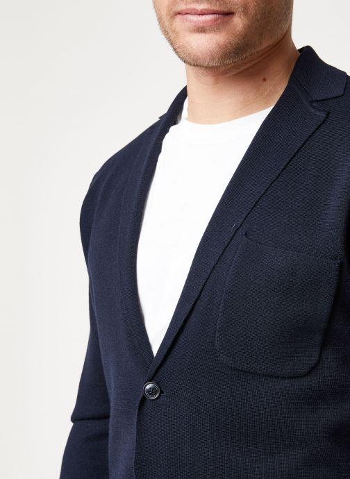 Vêtements Scotch & Soda Chic summer blazer cardigan in wool -blend Bleu vue face