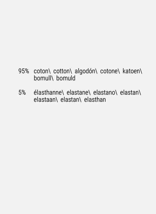 Vêtements Scotch & Soda Classic cotton/elastane crewneck tee Blanc vue derrière