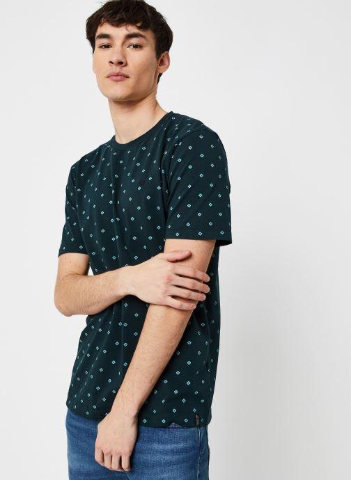 T-shirt - Classic cotton/elastane crewneck tee