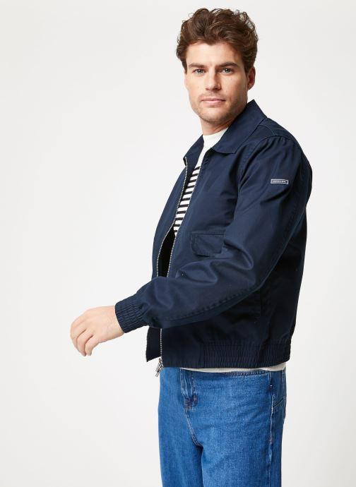 Vêtements Scotch & Soda Classic short jacket in cotton quality Bleu vue droite