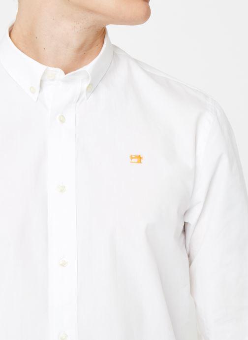 Vêtements Scotch & Soda REGULAR FIT - Classic crispy shirt Blanc vue face