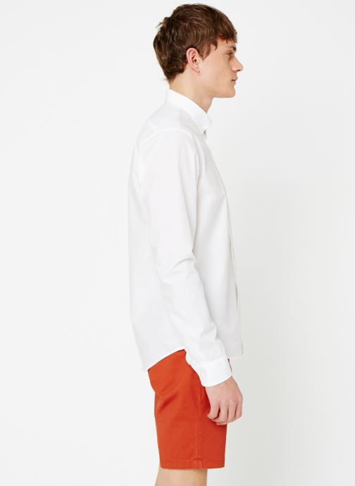 Vêtements Scotch & Soda REGULAR FIT - Classic crispy shirt Blanc vue droite
