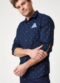 REGULAR FIT- Shirt with sleeve collectors and fixed pochet