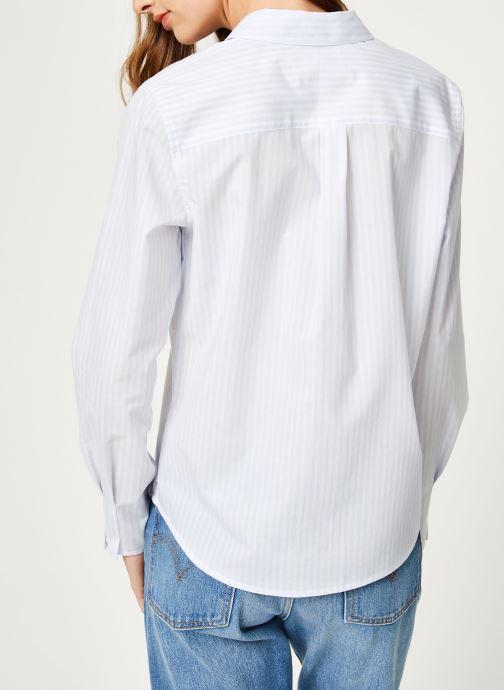 Vêtements Maison Scotch 149771 Blanc vue portées chaussures