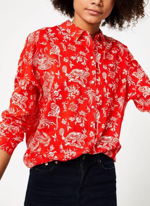 Vêtements Maison Scotch 149773 Rouge vue détail/paire