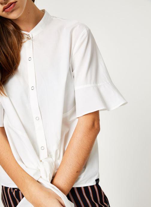 Vêtements Maison Scotch 149774 Blanc vue face