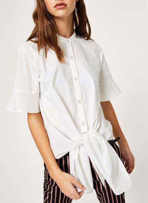 Vêtements Maison Scotch 149774 Blanc vue détail/paire
