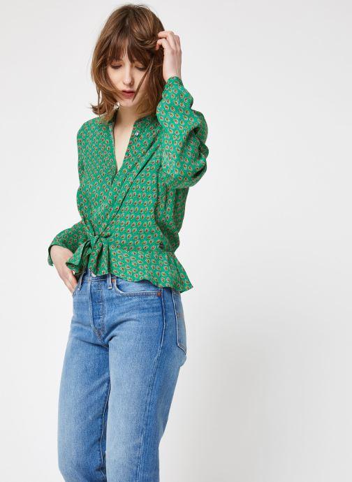 Vêtements Scotch & Soda 149807 Vert vue droite