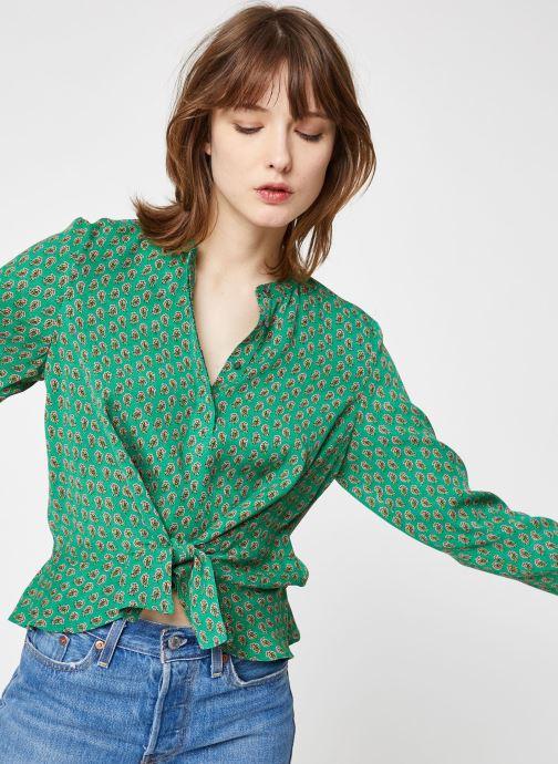 Vêtements Maison Scotch 149807 Vert vue détail/paire
