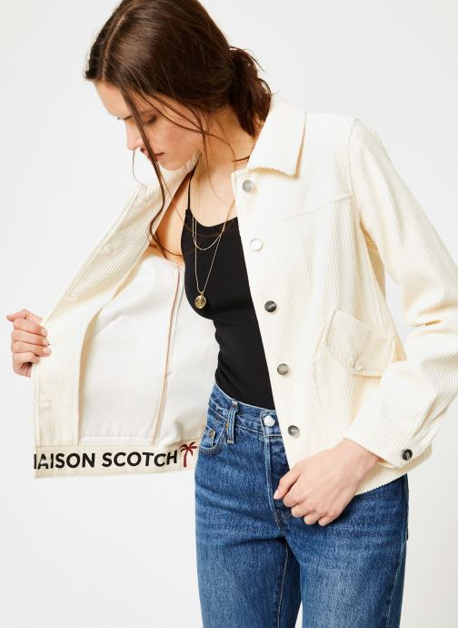 Vêtements Scotch & Soda 150012 Blanc vue détail/paire