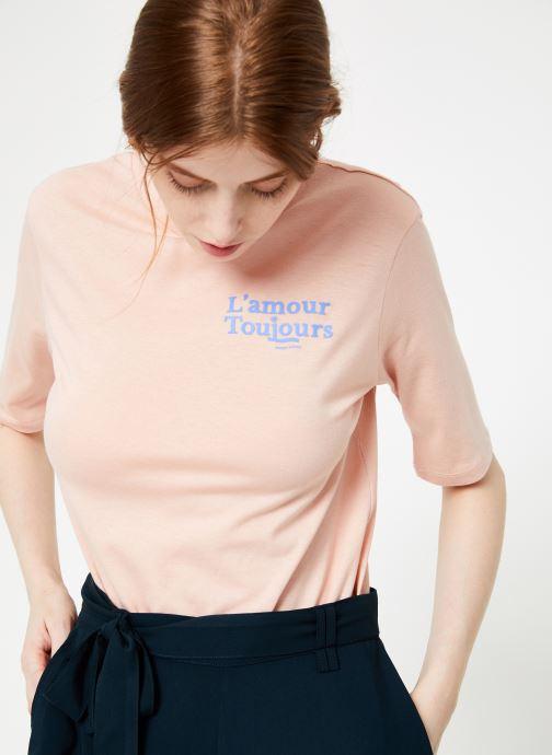 Vêtements Scotch & Soda 150162 Rose vue détail/paire