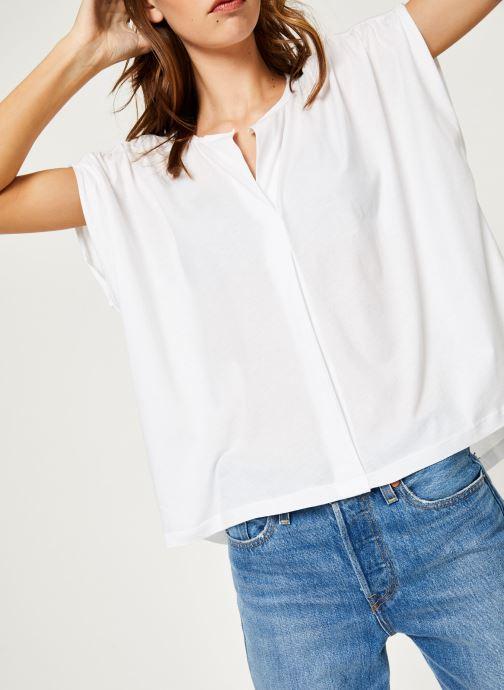 Vêtements Maison Scotch 150177 Blanc vue détail/paire