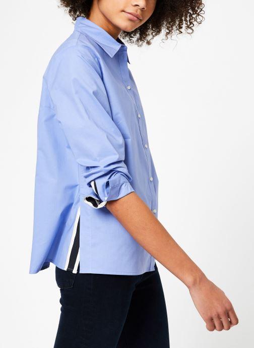 Vêtements Maison Scotch 151143 Bleu vue droite