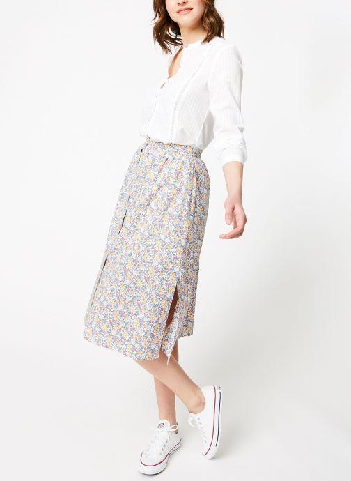 Vêtements Garance BADIA Blanc vue bas / vue portée sac