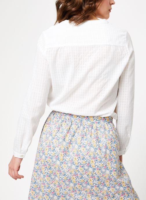 Vêtements Garance BADIA Blanc vue portées chaussures