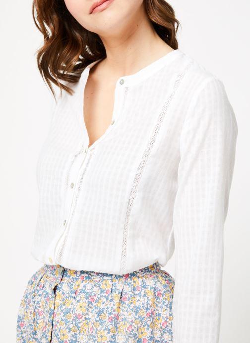Vêtements Garance BADIA Blanc vue face