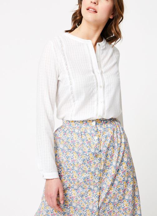 Vêtements Garance BADIA Blanc vue droite