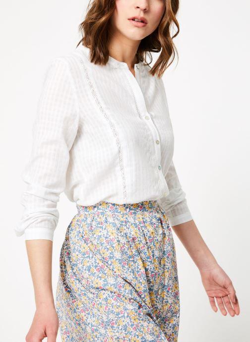 Vêtements Garance BADIA Blanc vue détail/paire